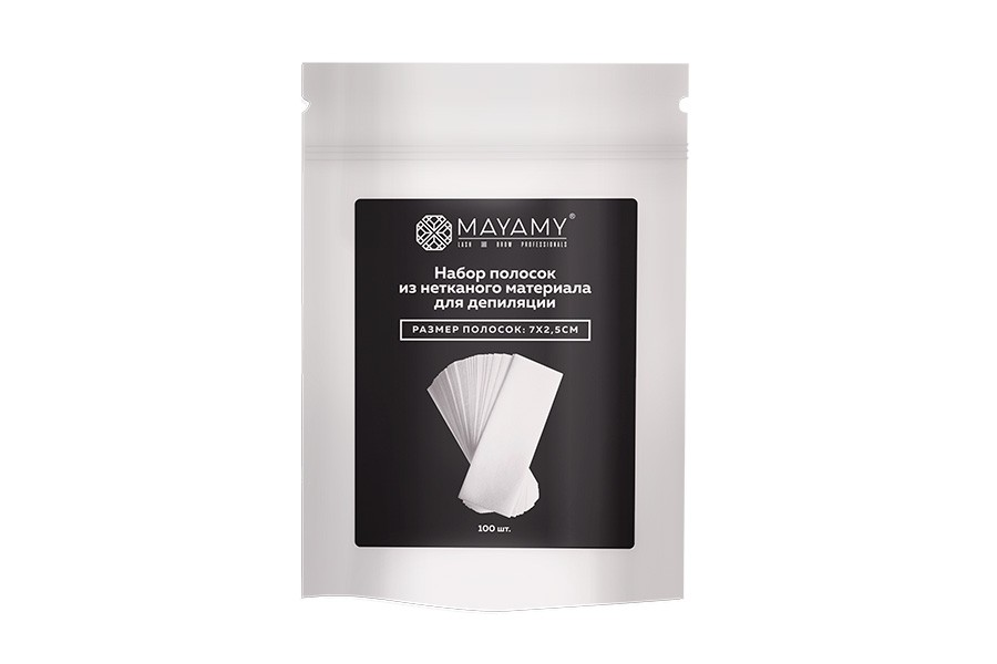 Mayamy Nonwoven Papers for Eyebrows 100tk