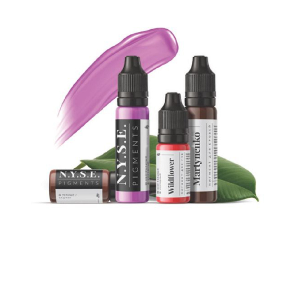 N.Y.S.E. Pigments for permanent makeup, 10 ml