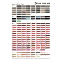 Purebeau Colour Chart