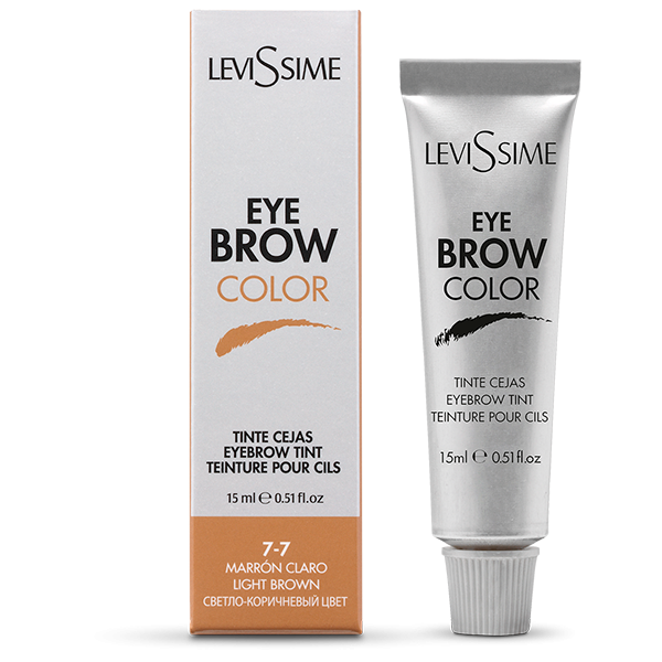 Levissime  kulmuvärv LIGHT BROWN 7-7, 15 ml