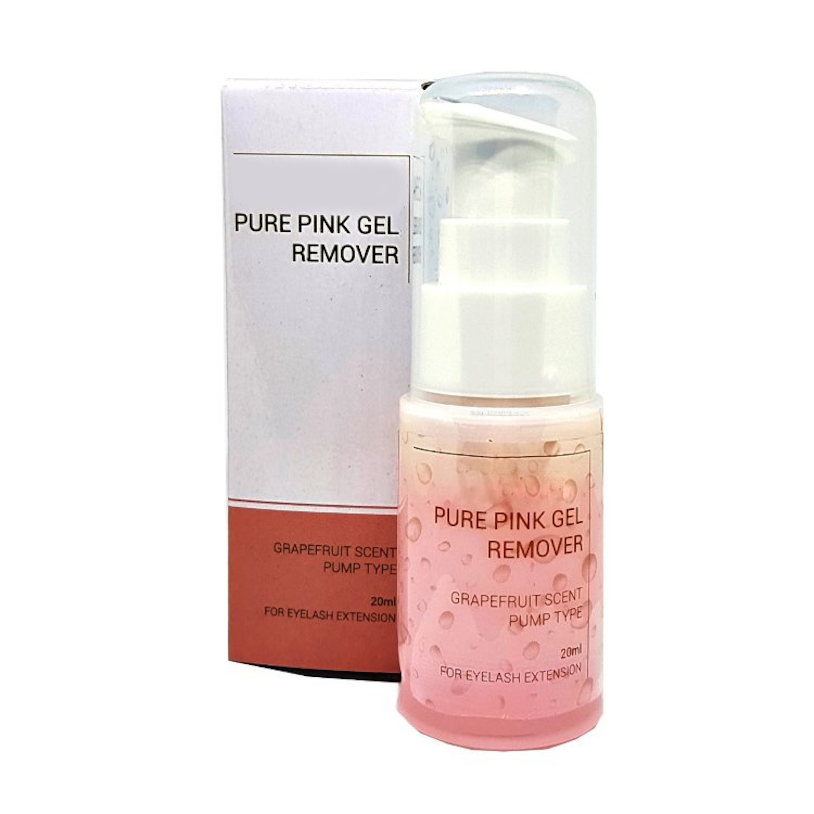 Pure pink gel remover - 20 ml