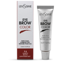 Levissime  kulmuvärv BROWN 7-5, 15 ml