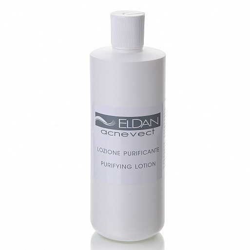 ACNEVECT purifying lotion - 500 ml Eldan Cosmetics