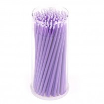 Microbrushes Violet, 1.5 mm 100 pcs
